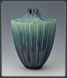 Newman Ceramic Works - Seedpod Vase | SattvaGallery.com