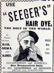 Seeger's Hair Dye