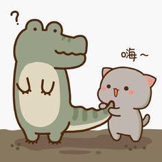 Chibi Cat, Kawaii Chibi, Cute Chibi, Kawaii Cute, Cute Cartoon Images, Cute Cartoon Wallpapers, Cute Images, Cartoon Stickers, Cute Stickers