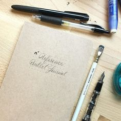 An idea I'm currently working on is the Reference Bullet Journal although perhaps it should be called the 2017 Reference Bullet Journal. It's a notebook meant to serve me over the course of the year alongside my everyday Bullet Journal. I'll add in various collections I'll be referencing over the year that I would rather not migrate from notebook to notebook throughout the year because I go through Bullet Journals really fast. This is not something I would recommend everyone or even newbies…