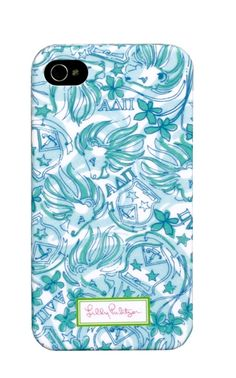 Alpha Delta Pi Lilly Pulitzer iPhone 5 Cover. www.sassysoroity.com #ADPI #iPhone5 #Lilly