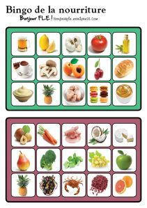 bingonourriture4 Bingo, French General, French Resources, French Language Learning, Children With Autism, Nutrition, Learn French, Infant Activities, Health