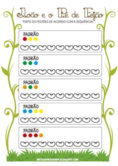 Blog com atividades escolares. Voltado para mães e professoras. Teacher Worksheets, Worksheets For Kids, Printable Worksheets, Transportation Worksheet, Fairy Tale Theme, Math Patterns, Kids Homework, Pre K Activities, Early Math