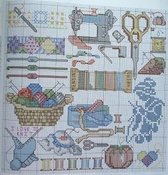 Gallery.ru / Фото #32 - I love stitching - Labadee