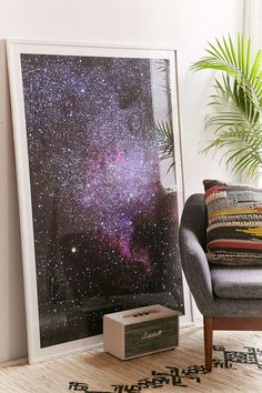 Guido Montanes North American Nebulae. The Milky Way Art Print - Urban Outfitters