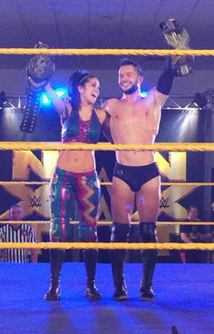 Finn and Bayley ... I totally ship this.