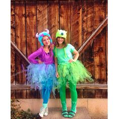 Mike and sully costume