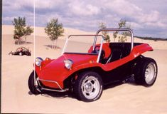 Meyers Manx Red Dune Buggy