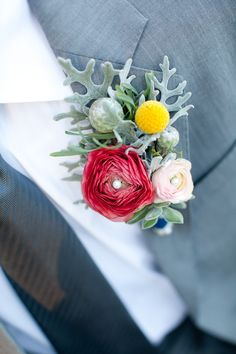 groom ideas boutonnière