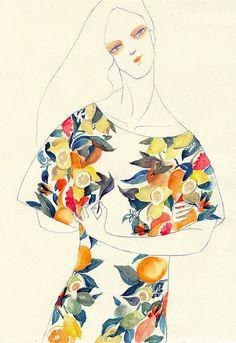 Illustration, Stella McCartney SS 11 by jiiakuann Mode Collage, Illustration Arte, Moda Vintage, Art Design, Graphic Design, Photomontage, Fashion Sketches, Illustrations Posters, Design Illustrations
