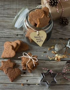 Ginger cinnamon cookies | Bolachas de gengibre e canela - Made by Choices  #vegan #refinesugarfree