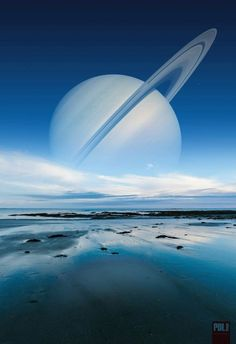 Saturn viewed from Titan Planets Wallpaper, Wallpaper Space, Scenery Wallpaper, Planets And Moons, Galaxy Planets, Aesthetic Space, Space Artwork, Science Illustration, Space Backgrounds