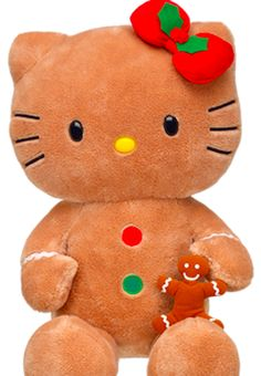 Gingerbread Hello Kitty with Scented Gingerbread Boy