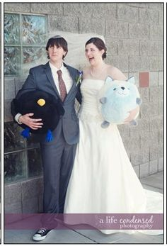 Squishable wedding from Katie R! Our fans our the best (and they clean up real nice too!) #squishable #plush #fashion #wedding