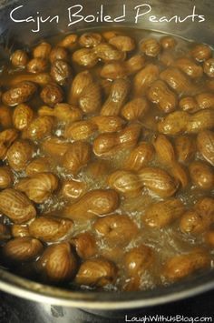 Cajun Boiled Peanuts Recipe--just like the road side stands. So easy to make at home!