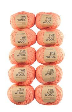 Pack 10 ovillos de lana fina 100% peruana