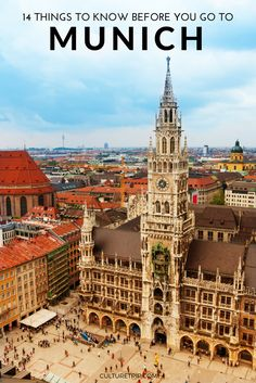 14 Things to Know Before You Go to Munich