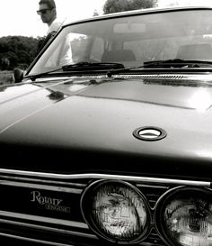 The wheel man. Henri H division Bourse. A thing of beauty. Datsun 1600, Rotary, Division, Engineering, Car, Green, Beauty, Automobile, Vehicles