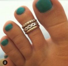 We do custom toe ring fittings 7 days a week! No pinching and 100% sterling silver!