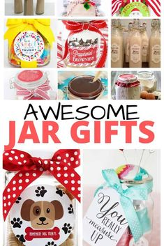 Gifts in a jar recipes make easy homemade last-minute gifts, If you are looking for teacher gifts, neighbor gifts, or even gifts for co-workers you are in luck I have you covered. Diy Gifts Cheap, Easy Diy Gifts, Homemade Gifts, Homemade Dog Treats, Diy Gifts In A Jar, Mason Jar Gifts, Mason Jar Diy, Gift Jars, Diy Christmas Gifts