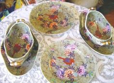 Vintage china pattern