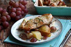 Egy finom Rozmaringos pulykamell alma és körteágyon ebédre vagy vacsorára? Rozmaringos pulykamell alma és körteágyon Receptek a Mindmegette.hu Recept gyűjteményében!