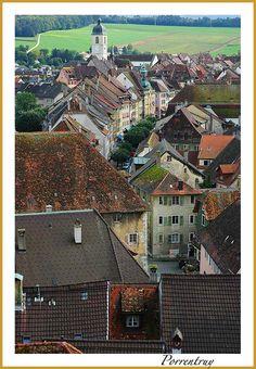 Porrentruy - Porrentruy, Jura, Switzerland Copyright: Eva Buffoni Beaux Villages, Belle Villa, Basel, Travel Europe, 10 Years, City Photo, Landscapes, Germany, Bucket