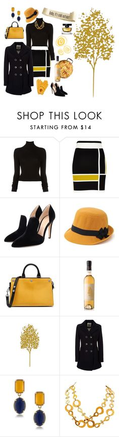 """""""January Pasta Lunch at Lucia's ❄"""" by jbeb ❤ liked on Polyvore featuring BLK DNM, River Island, Gianvito Rossi, Mulberry, Geox, 1st & Gorgeous by Carolee and Kenneth Jay Lane"""