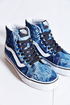Vans Sk8-Hi Denim Reissue Womens Sneaker - Urban Outfitters