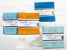 Awesome RJR  Fabrics Palette by Jinny Beyer Charm Pack