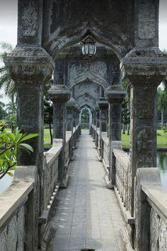 It's a beautiful world — Ujung Water Palace, Bali / Indonesia (by Roman...