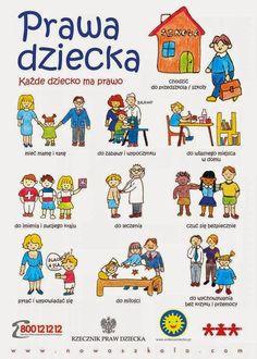 prawa dziecka kolorowanka - Szukaj w Google