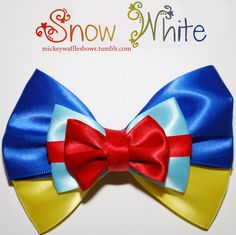 Snow White Hair Bow. $8.00, via Etsy.