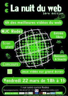 Explorer cette image interactive: Nuit du Web 2013 by mjc rodez