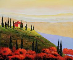 The Tuscan Sun - Oil Painting