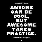 Quotable 2014 Black & White Calendar
