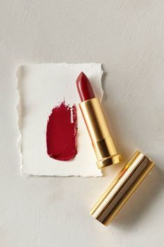 for the perfect red lip try 'ruby' by anthropologie