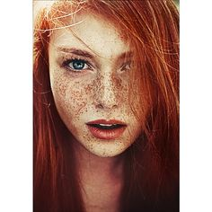 FRECKLES ❤ liked on Polyvore featuring people, models, backgrounds, hair and pictures