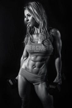 When I see this picture, I see hard work, dedication, and devotion. Absolutely amazing! This is my ultimate goal for my body!