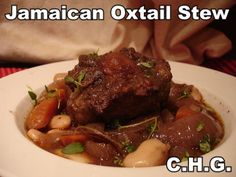 Jamaican Oxtail Stew is oh so delicious. I just simply love this delicious recipe.
