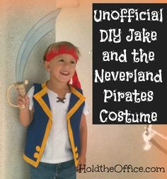 Unofficial Jake and the Never Land Pirates Costume