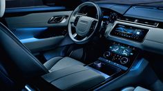 View the Range Rover Velar in action in our interior image gallery. Explore the stunning interior design of the Range Rover Velar. Find out more. Range Rover Evoque, Range Rover Sport 2018, Range Rovers, New Luxury Cars, Luxury Suv, Suv Cars, Sport Cars, Cars Auto, Super Sport