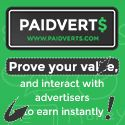 Join PaidVerts NOW!