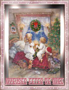 no.gif Gif Animé, Winter Wonderland, Merry Christmas, Frame, Painting, Decor, Noel, Vintage Christmas, Christmas Parties