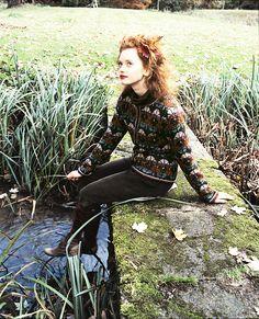 Now in the Ravelry Rowan online pattern store: Shaded Flower by Kaffe Fassett