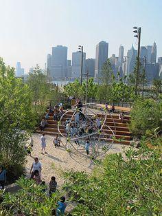 Brooklyn Bridge Park/ Michael Van Valkenburgh Associates, Inc
