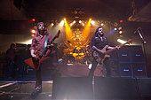 FILE PIX: Cardiff, UK. 5th Nov, 2005. Lemmy and Motorhead gig at Cardiff University Students Union on 5th November - Stock Photo