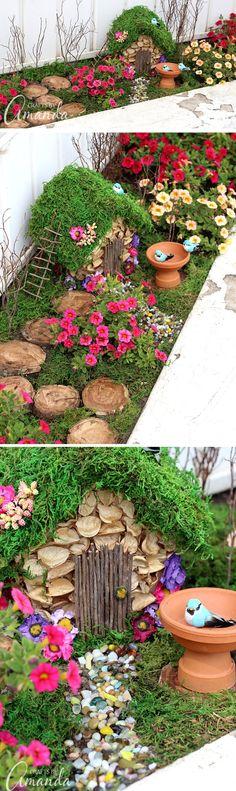 Jardin miniature cr dans un jardin 21 Jardin maisons