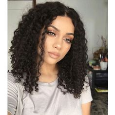 105.00$ Watch now - http://alisri.worldwells.pw/go.php?t=32776755526 - Fashion Style Malaysian Virgin Hair Short Curly Wig Glueless Full Lace Wigs Unprocessed Kinky Curly Lace Front Human Hair Wigs 105.00$