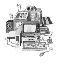 Space Programme - Kate Rowland Illustration